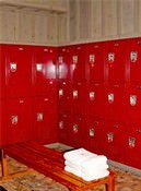 The Fitness Center locker rooms feature a fabulous dry sauna, showers, and day-use lockers.